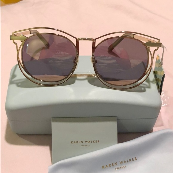 3101dce855e8 Karen Walker Accessories | Sold Superstars Simone | Poshmark
